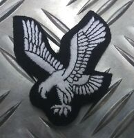 Genuine British Military Issue Army Air Corp  Eagle Badge White Braid APOR1AC