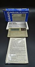 Calculadora Casio data-cal DC-830 GD. Calculadora vintage, antigua año 1989