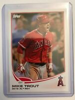 2013 Topps #338 Mike Trout Angels American League Rookie Of The Year
