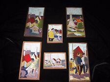 Nis Stougaard Group Scenic Glazed Ceramic Tiles