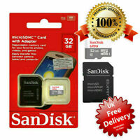 Sandisk Micro SD 16/32 GB SDHC Memory Card Mobile Phone Tablet Camera