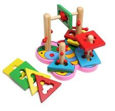 Kids 3D Butterfly Shapes MAZE Wooden Early Childhood Educational TOY PUZZLE