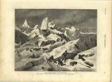 1875 Austro-hungarian Arctic Expedition Tegethoff Ice Bound