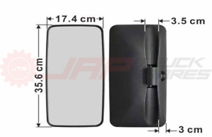 MITSUBISHI FUSO CANTER FE7 & FE8 (2012 ON) TRUCK MIRROR 356MM x 174MM - LEFT