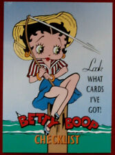 BETTY BOOP - Individual Card #72 - CHECKLIST