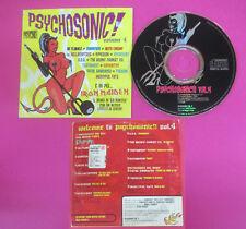 CD Compilation Psychosonic!Volume 4 IN FLAMES SUNDOWN ARCH ENEMY no lp(C46)