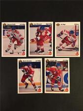 1991/92 Upper Deck Hockey Canada Cup Team Czechoslovakia Set 5 Cards
