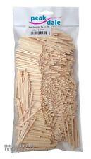 Peak Dale Natural Wooden Matchsticks for Craft Art & Modelling - Pack of 1000