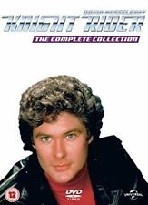 Knight Rider Seasons 1-4 DVD 5053083066062 David Hasselhoff Patricia Mcph.