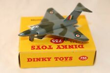 Dinky Toys 735 Gloster Javelin Fighter perfect mint in a perfect mint box beauty
