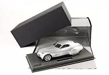 BBR 2008 BMW Mille Miglia Concept Silver w/ Glass Cover  P1884V LE of 96 1/18