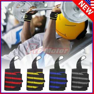 Gym Sports Wrist Band Brace Wrap Adjustable Support Strap Carpal Tunnel Bandage