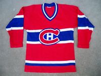 Vintage Antique Montreal Canadiens NHL Hockey Stitched Jersey Uniform Size Small