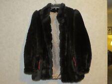 VINTAGE   Faux Fur  Jacket  Regina Glenara By Glenoit