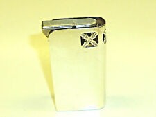 """DUNHILL """"UNITY"""" SEMI-AUTOMATIC LIGHTER W. ENGLISH STERLING SILVER CASE - 1928/29"""