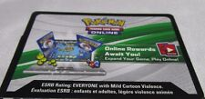 Pokemon Online TCG ROARING HEAT Sun and Moon Theme Deck CODE CARD. e-mail