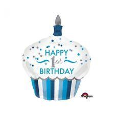 Amscan 3452301 Folienballon 1. Geburtstag junge