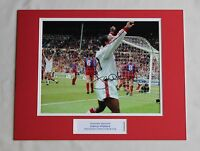 Danny Wallace In Manchester United Shirt HAND SIGNED Autograph Photo Mount COA