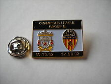 a1 VALENCIA - REDS cup uefa champions league 2003 spilla football pin