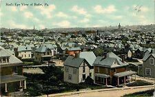 c1910 Birds Eye View of Butler, Pennsylvania Postcard