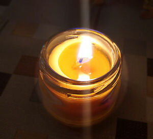Beeswax Honey Candles - 100% Pure Handmade Bees Wax Candle With Aromatic Scent