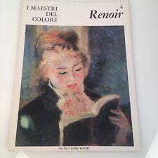I maestri del colore Renoir (n.4) Fabbri Editore 1963 prima edizione