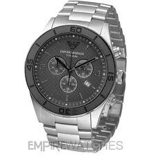 *NEW* MENS EMPORIO ARMANI SPORTIVO TITANIUM WATCH - AR9502 - RRP £449.00