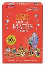Gangsta Grannys Mental Maths Card Game World of David Walliams Childrens Games