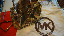 MICHAEL KORS Metallic Small Duffle bag AUTHENTIC