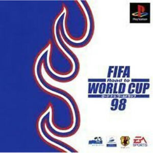 FIFA WORLD CUP 98    PS ONE  PLAYSTATION 1 VERSIONE JAPAN