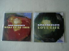 King Creosote job lot of 2 promo Cds Wake Up To This Love Life