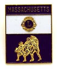 Pin Spilla Lions International Massachusetts cm 2,5 x 3,2