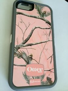 OEM OtterBox Defender Case & Holster  Apple iPhone 5 5S - Pink Camo 77-22522
