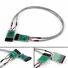 1x Double Repeater Control Cable TX/RX-2 For Motorola GM300 Radio Relay Station