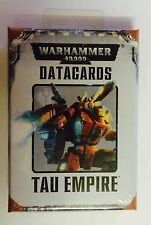 Warhammer 40k. Tau Empire Data Cards. 7th Edition. Oop. Unopened. Sealed.