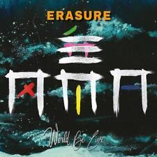 Erasure : World Be Live CD (2018) ***NEW***