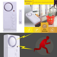Wireless Window Door Burglar Security Alarm 130dB System Magnetic Sensor Home