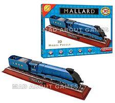 THE MALLARD * 3D PUZZLE 155 pcs * 61x12X13cm  Construction Train Locomotive