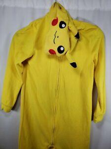 Kid's Unisex Size 10/12 Pikachu Pokemon Pajamas Sleepwear - Comfort Wear
