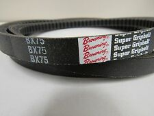 BROWNING BX75 V-BELT 21/32 X 78 IN. RAW EDGE COGGED NEW OLD STOCK