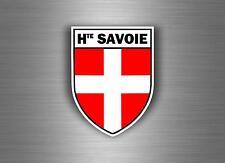 Sticker decal car bike motorcycle souvenir france flag savoy savoie shield r2