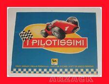 ALBUM Figurine I PILOTISSIMI Agip ENZO FERRARI 1994