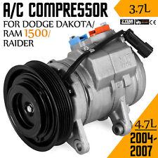 AC Compressor for Dodge Dakota Ram 1500 V6 3.7L & V8 4.7L 2004-2007 CO 10800C