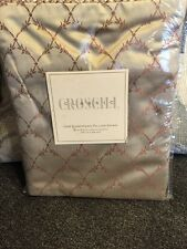 "Croscill Conservatory Cream One European Pillow Sham 26"" x 26"". Cream"