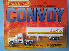 Matchbox Convoy Kenworth Box Truck Paul Arpin Van Lines USA Rare