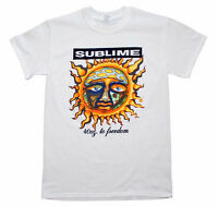 SUBLIME T-Shirt 40 Oz To Freedom WHITE Brand New Authentic Rock Tee S M L XL XXL