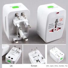 US to EU UK AU and Universal AC Power Plug World Travel Adapter Converter -QN41