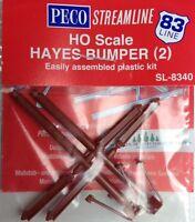 PECO SL-8340 HO Code 83 Hayes Bumper Post Kit - 2 Pack  MODELRRSUPPLY   $5 Offer