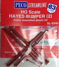 PECO SL-8340 HO Code 83 Hayes Bumper Post Kit - 2 Pack 552-SL8340  MODELRRSUPPLY