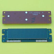 "3× Lite-On LTC-617D1G GREEN LED CLOCK DISPLAY 7 SEGMENT 4×0.6"" 4 INDICATORS CA †"